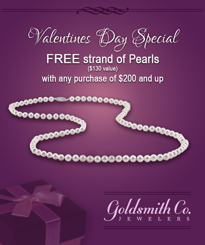 Free Pearls with Purchase