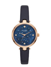 Kate Spade Holland Constellation Rose Gold and Navy Leather Watch